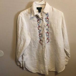 Ralph Lauren button down floral